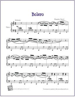 Who has stolen the Boléro by Maurice Ravel