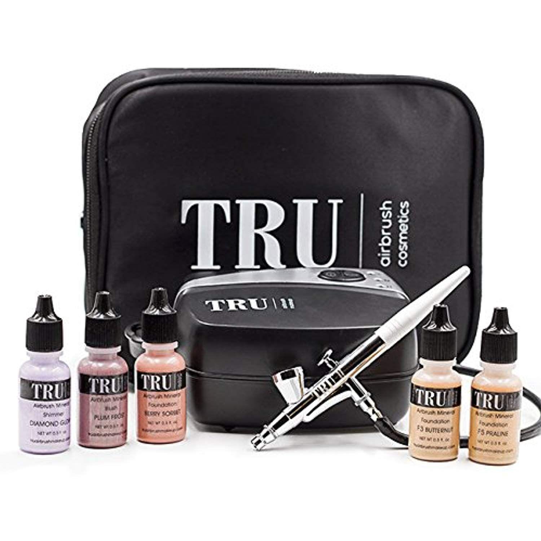 TRU Airbrush Cosmetics Mineral Makeup Set Essentials KIT