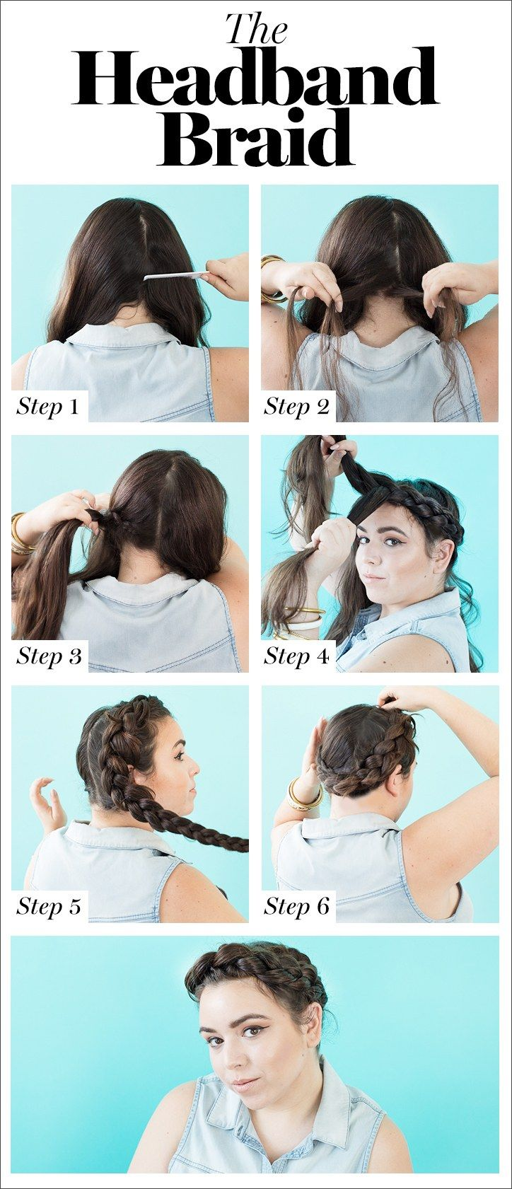 10 Cool Braids You Can Actually Do On Yourself Braided