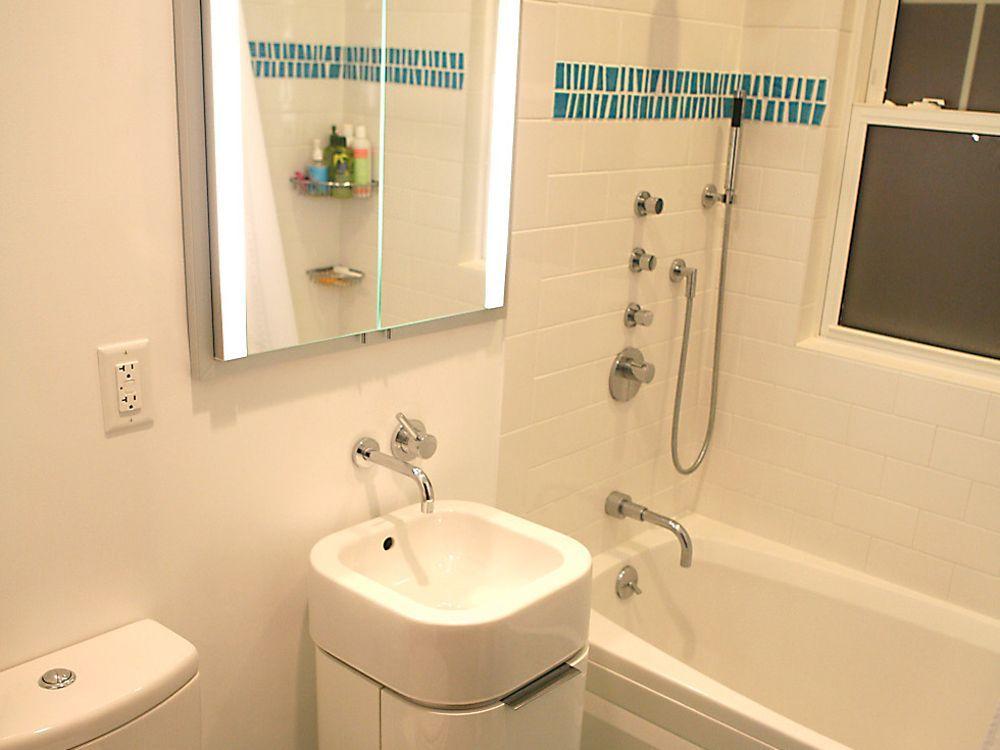 Badezimmer gestalten Ideen und Tipps fu00fcr kleine Bu00e4der