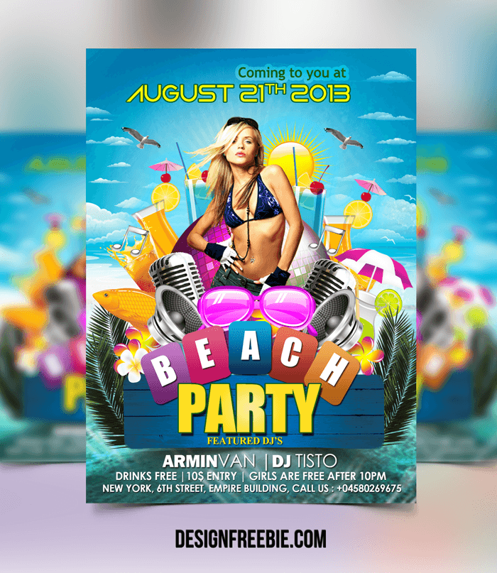 Awesome Flyer Design Template Free Download Free Flyer Design