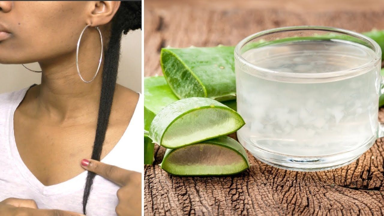 Faster thicker hair growth with aloe vera restore damage