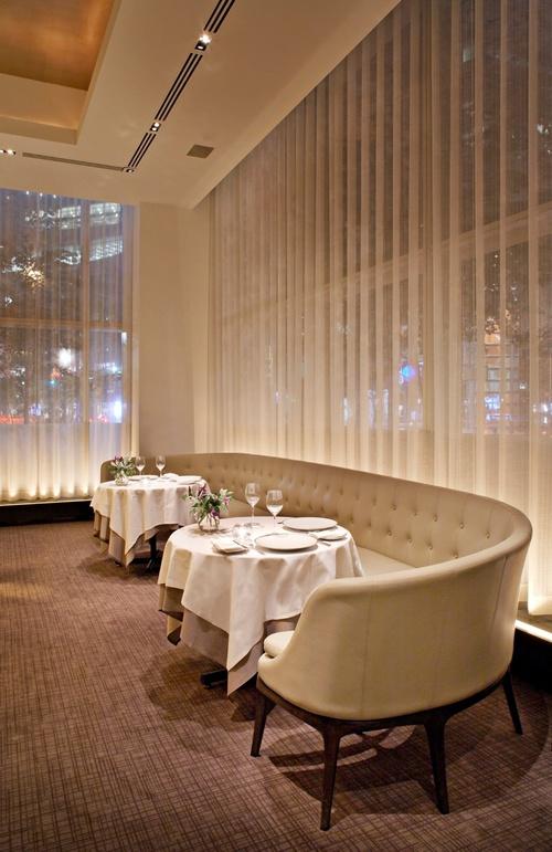 Jean Georges Thomas Juul Hansen Llc Restaurant Seating Luxury Restaurant Restaurant Interior Design