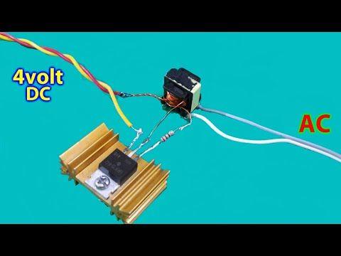 Make    inverter    12v to 220v 200W  Simple circuit    diagram       use 12 0 12 transformer    YouTube