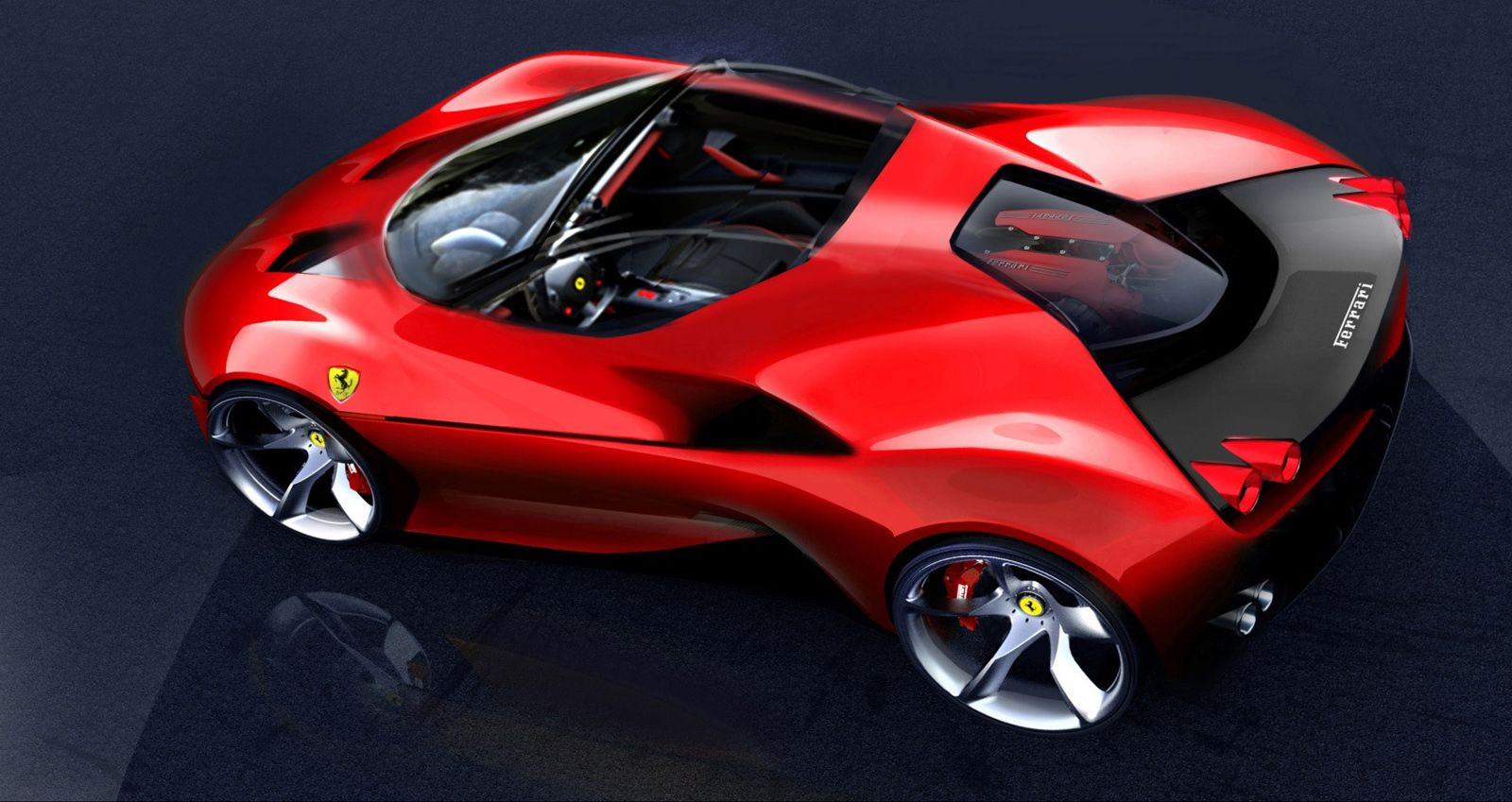 Ferrari S Future Designs Could Follow J50 S Lead Carscoops Ferrari Car Super Cars Ferrari