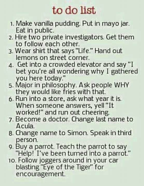 hahaha.#2 and 3 for sure