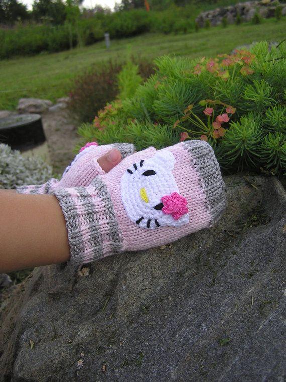1225d28d1 Fingerless Gloves, Wrist warmers, Fun Kids Mittens, Cute Gloves, Arm ...