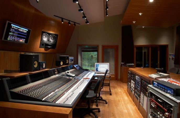 Timbaland Studios Virginia Beach