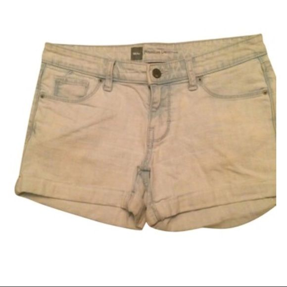 LIGHT BLUE SHORTS Size 4 fit 3 worn once **remember to bundle and save 10%** no holds/trades Mossimo Supply Co Shorts Jean Shorts