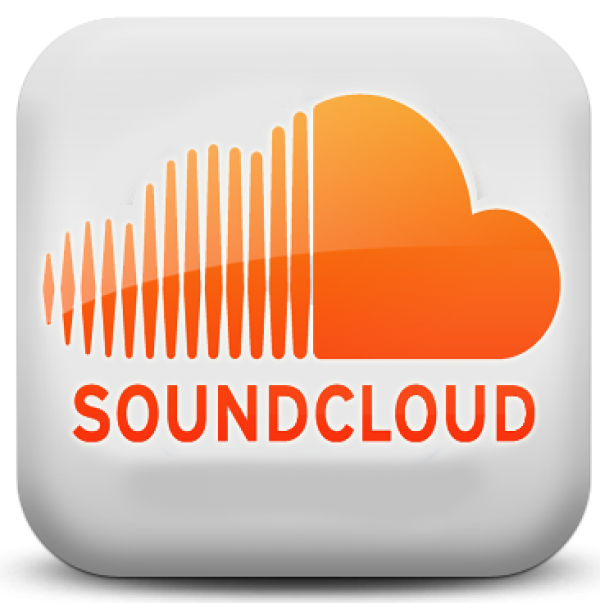 SoundCloud White App icon Listen to free music