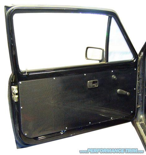 Carbon Fiber Door Panels Inside Car Carbon Fiber Vw Fox
