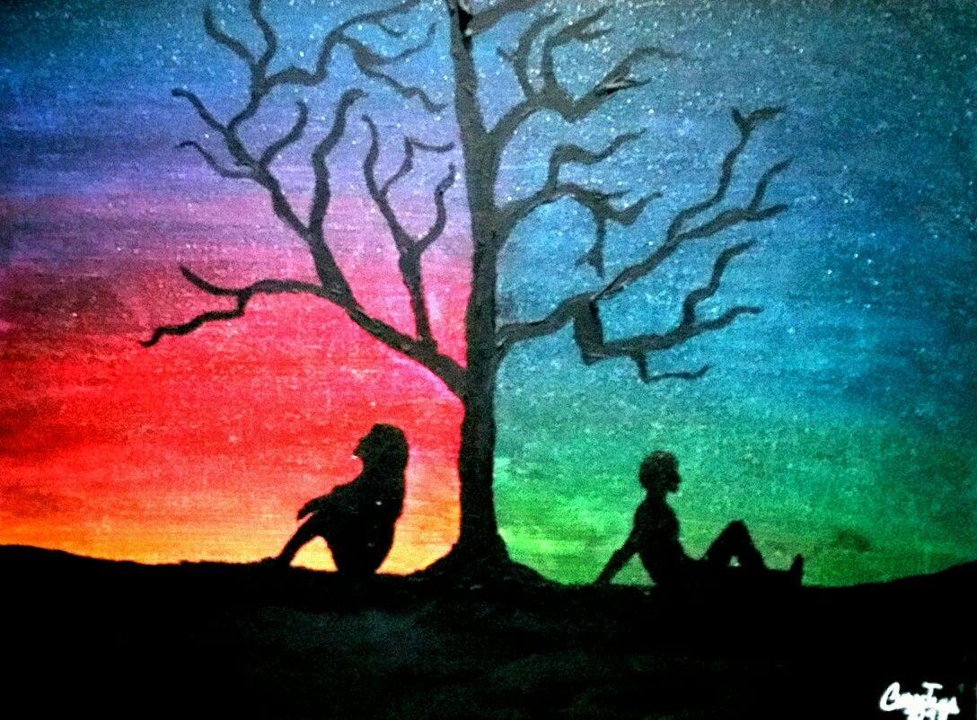 Color Painting Bunte Zeichnungen Bilder Selber Malen Natur Zeichnen