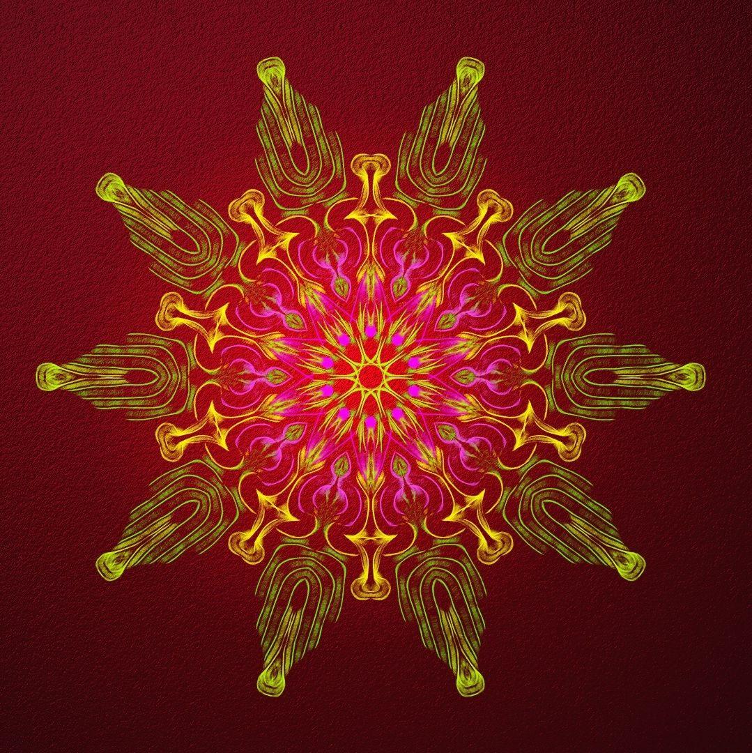 méditer ensemble ! meditate together ! meditar juntos ! Mandala de Pierre Vermersch Digital Drawings