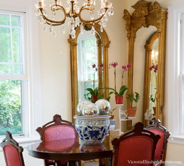 Dining Room Mirrors Antique decorating our victorian home via craigslist! | antiques