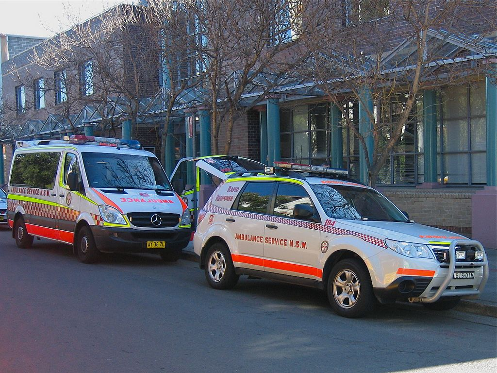 Sydney Ambulance Rescue vehicles, Ambulance, Subaru forester