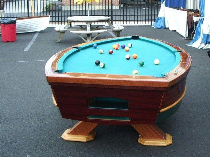 Wow Pool Table Boat Diy Pool Table Pool Table Billiard Tables