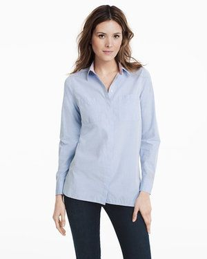 Oxford Shirt White House Black Market - sustainable and fair labor practices