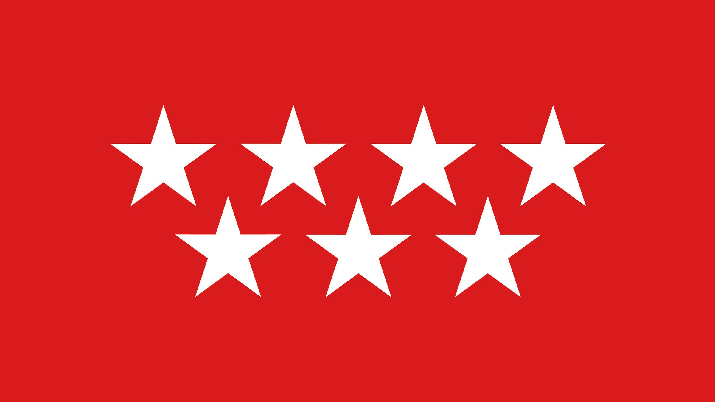 Las estrellas de la bandera de Madrid | Banderas y escudos ...
