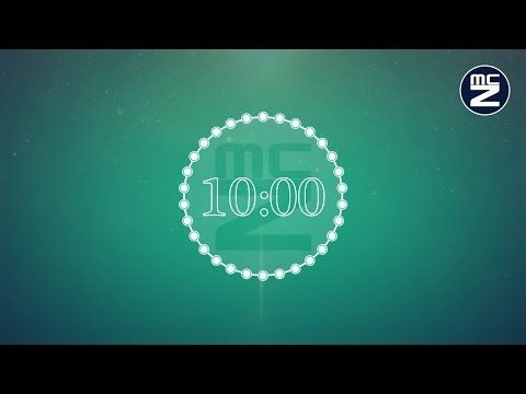 Countdown timer 10 minutes with music - Conto alla rovescia 10