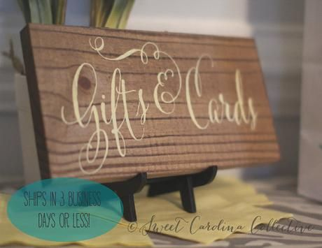 Wooden wedding signs by sweet carolina collective wooden wedding