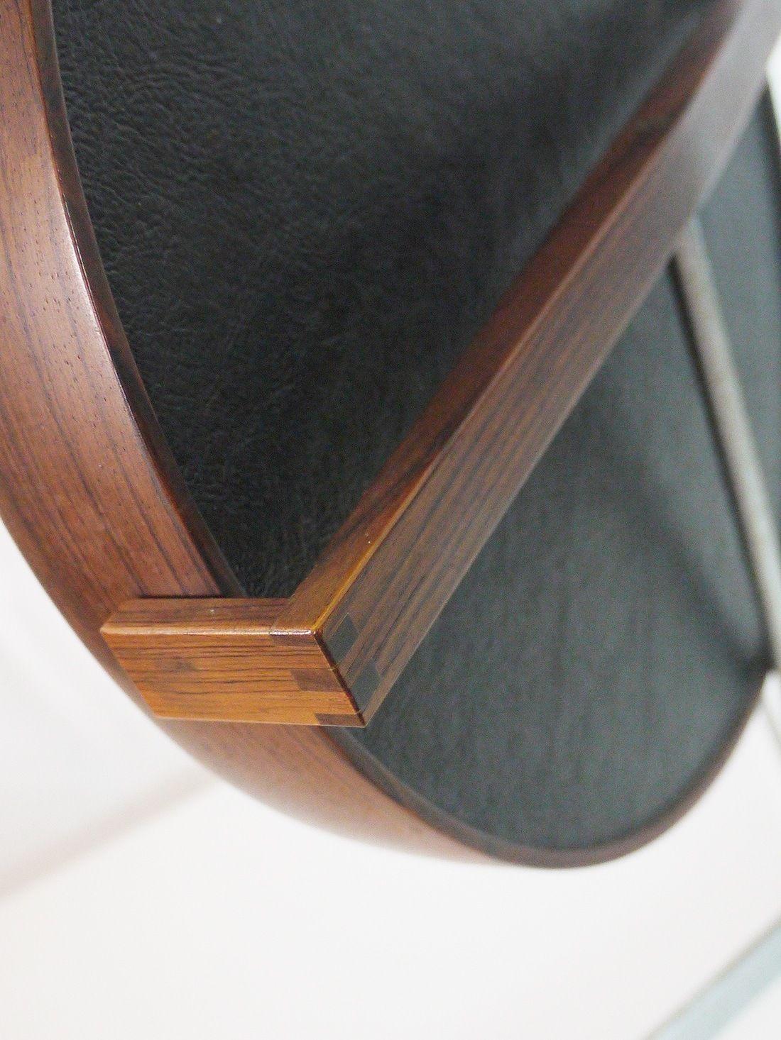 of uno u osten kristiansson table top mirror rosewood luxus