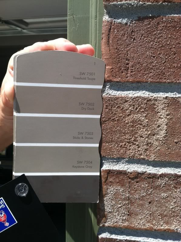 Sherwin Williams Exterior Paint Colors With Red Brick