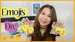 diy emojis llaveros - YouTube
