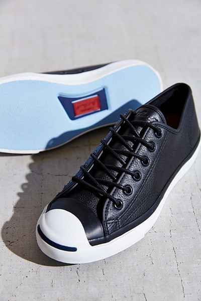 c0643f474c721d Converse Jack Purcell Tumbled Leather Low-Top Sneaker - Urban Outfitters