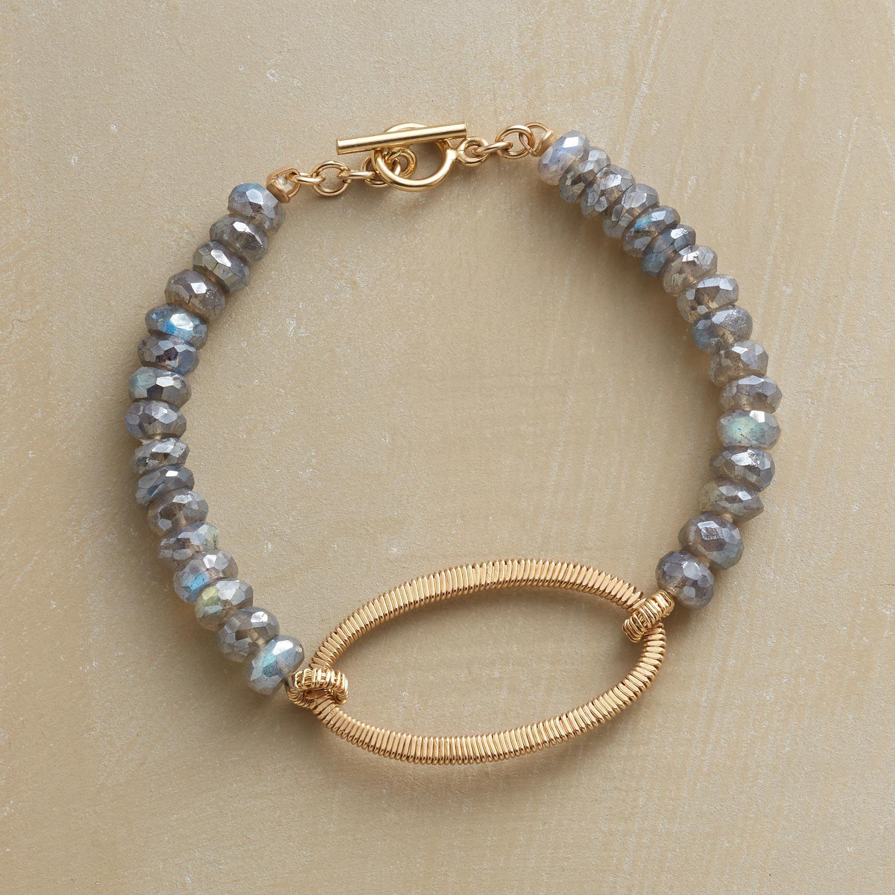 Modern Keepsake Bracelet Using An Age Old Wire Wrapping