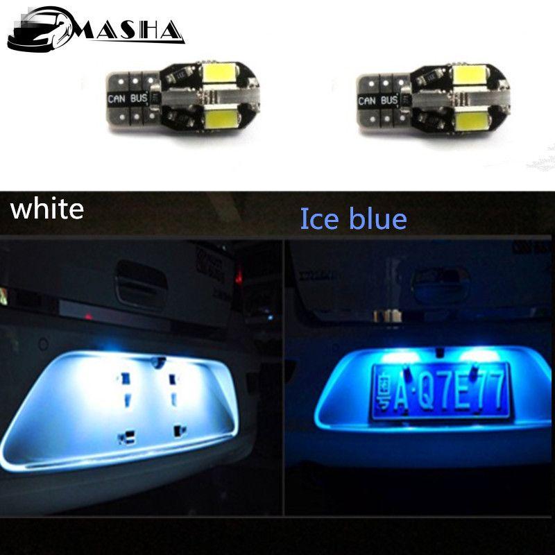 2 X T10 LED Side Parking Light Marker Lamps 12V For Infiniti   US $5.68