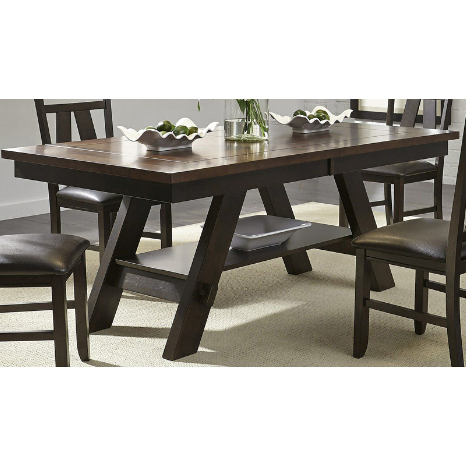 Remarkable Liberty Furniture Industries Lawson Extension Dining Table Caraccident5 Cool Chair Designs And Ideas Caraccident5Info