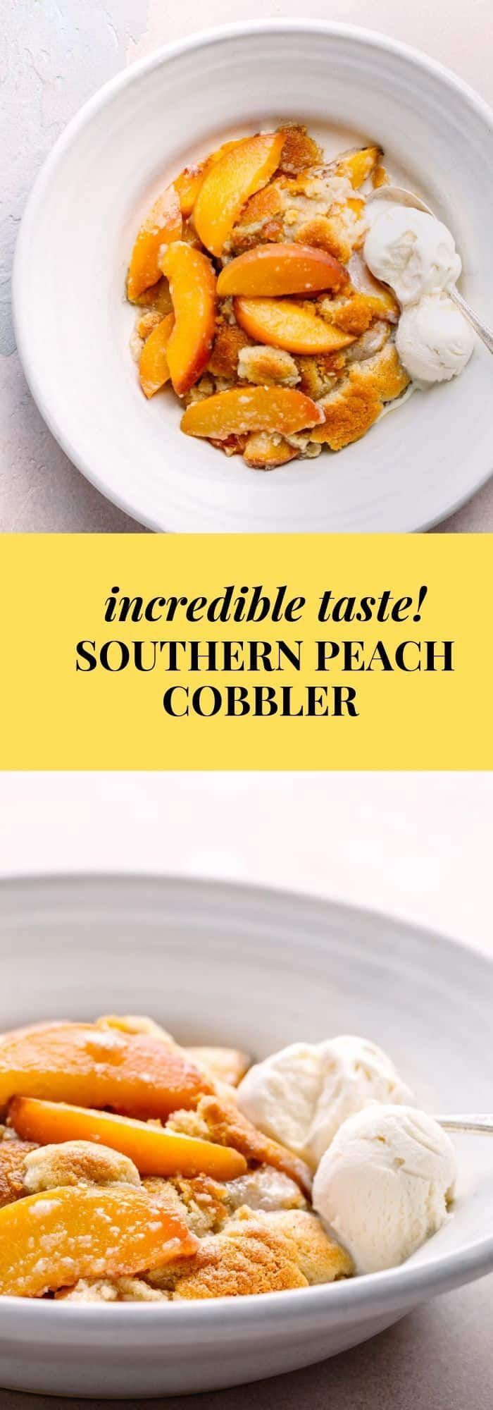 Southern Peach Cobbler Recipe - Best Ever! | Posh Journal #peachcobblercheesecake Southern Peach Cobbler Recipe - Best Ever! | Posh Journal #peachcobblercheesecake