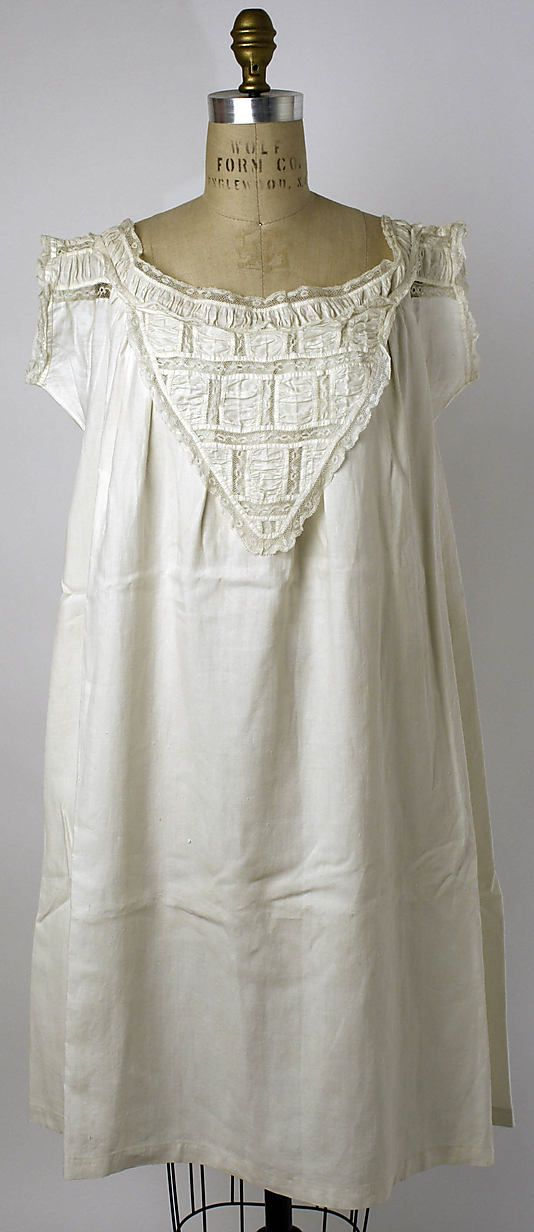 Chemise American The Metropolitan Museum Of Art Chemise Period Outfit Women S Chemises