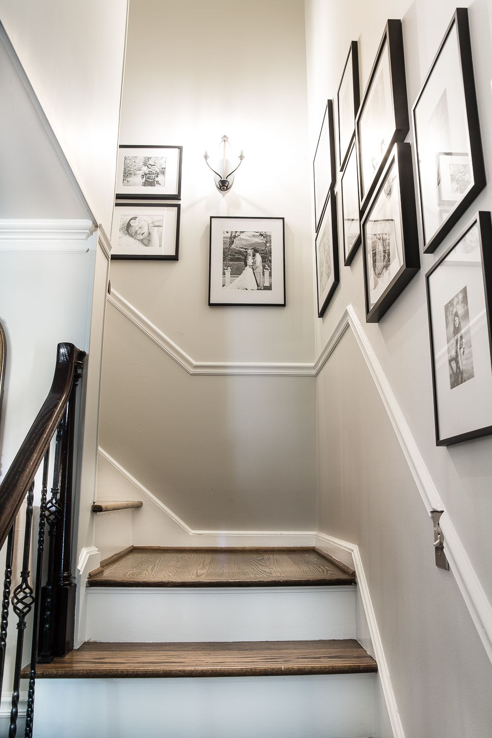 How to hang the perfect gallery wall gallery wall taps and foyers