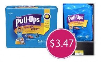 $4 00 Huggies Coupons! Pull-Ups, Only $3 47 at Walmart