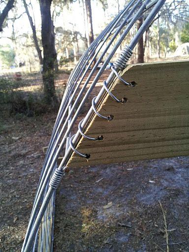 Hog Wire Fence Ideas Diy
