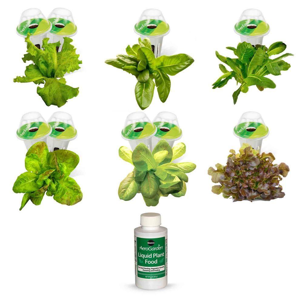 Aerogarden Heirloom Salad Greens Seed Pod Kit 9 Pod 400 x 300