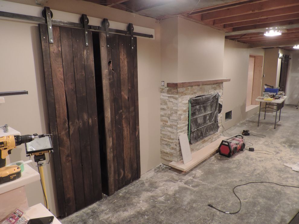 Tremendously Warm Sliding Barn Door Track | Latest Door Design