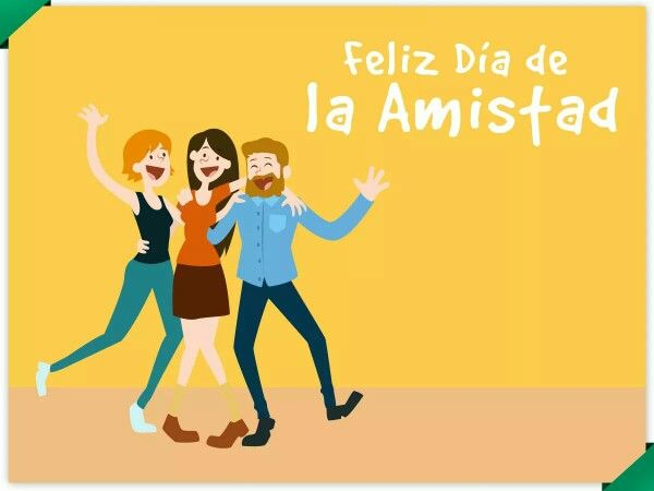 Feliz dia de la Amistat,