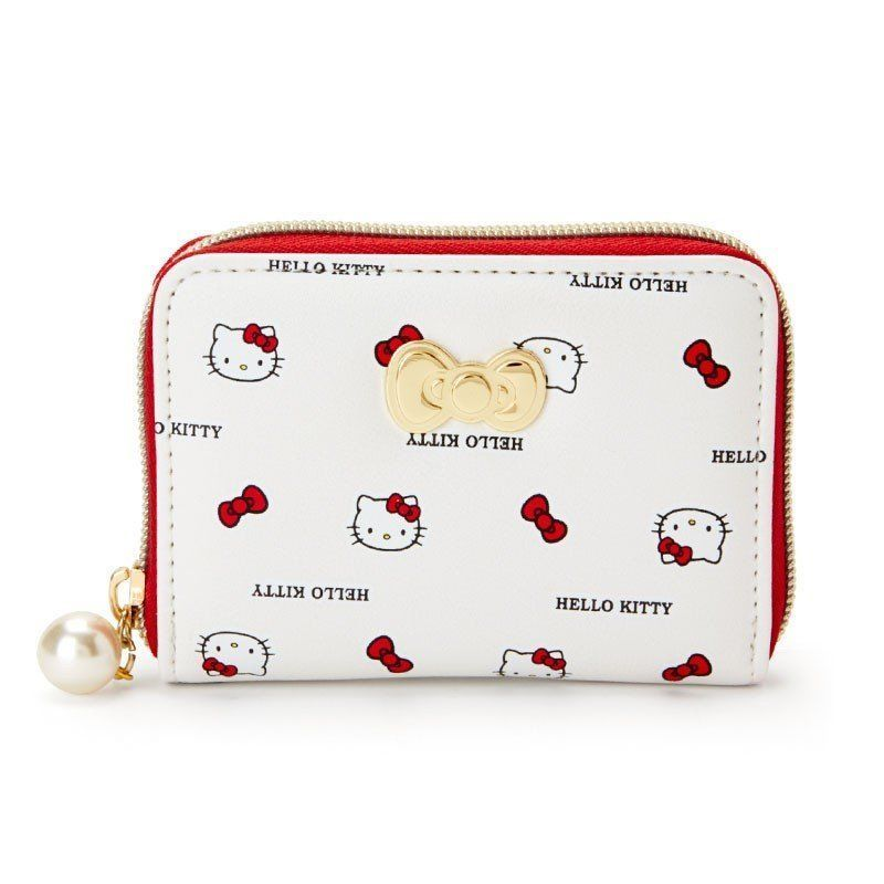 a7b07fe15 Hello Kitty [New] Coin Case Ribbon Sanrio Cute Kawaii Japan Free Shipping