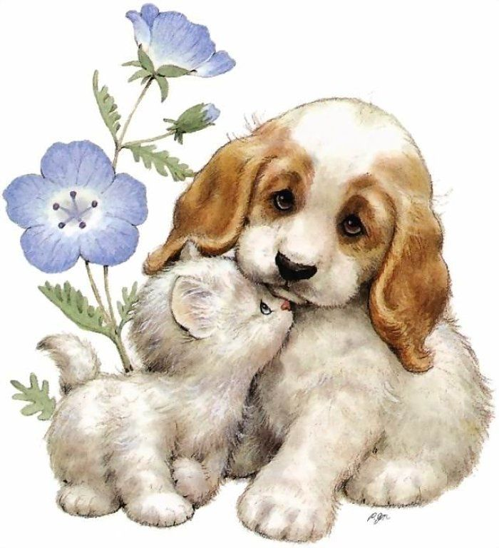 пишет милые открытки с собаками верованиям, армия воинов