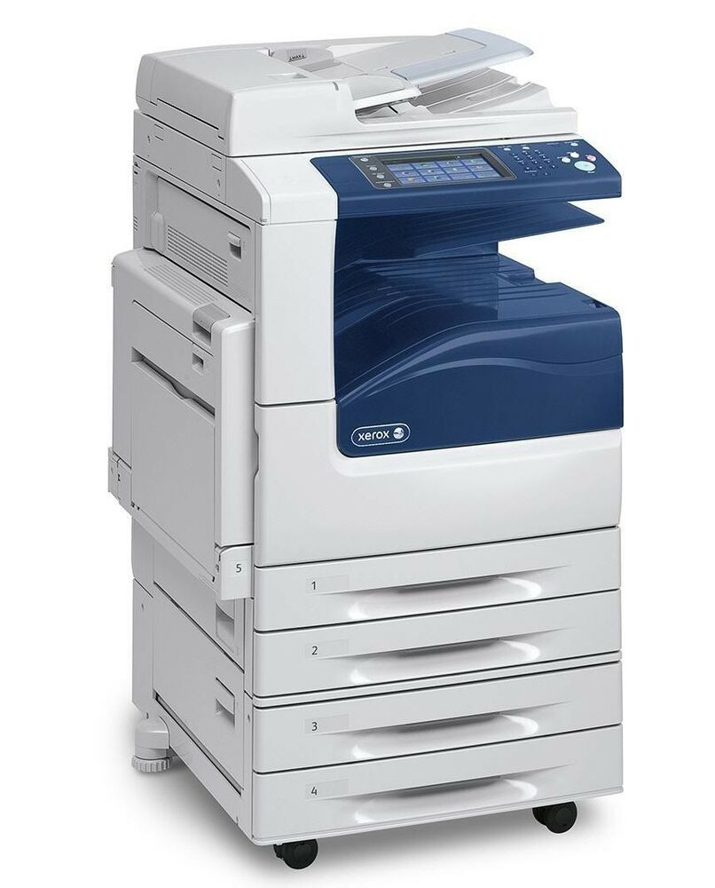 Details About Xerox Workcentre 7225 7225 P Color Printer W 2 X