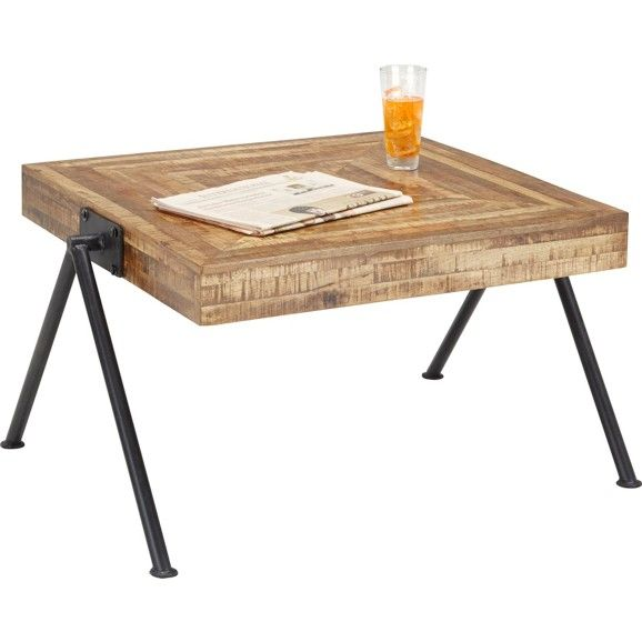 Couchtisch In Naturfarben Naturfarben Modern Holz Metall 70 45 70cm Pallet Coffee Table Coffee Table Home Decor