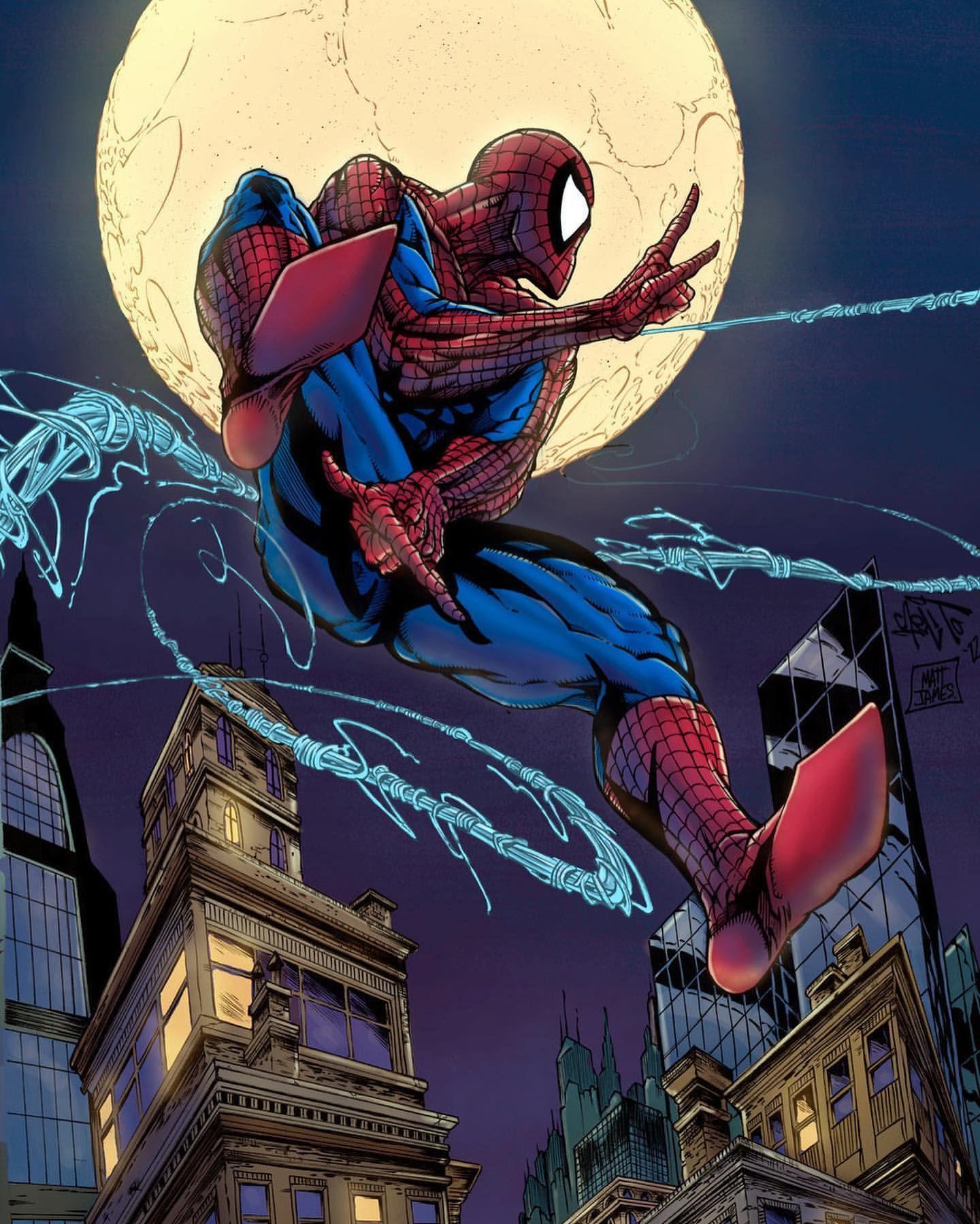 Cool Comic Colorby Matt James Spiderman Superman Storm Supergirl Wolverine Spawn Comics Comicart Comicartis Rare Comic Books Spiderman Comic Books