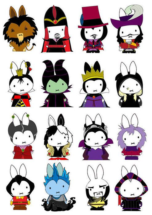 miffy disney villains