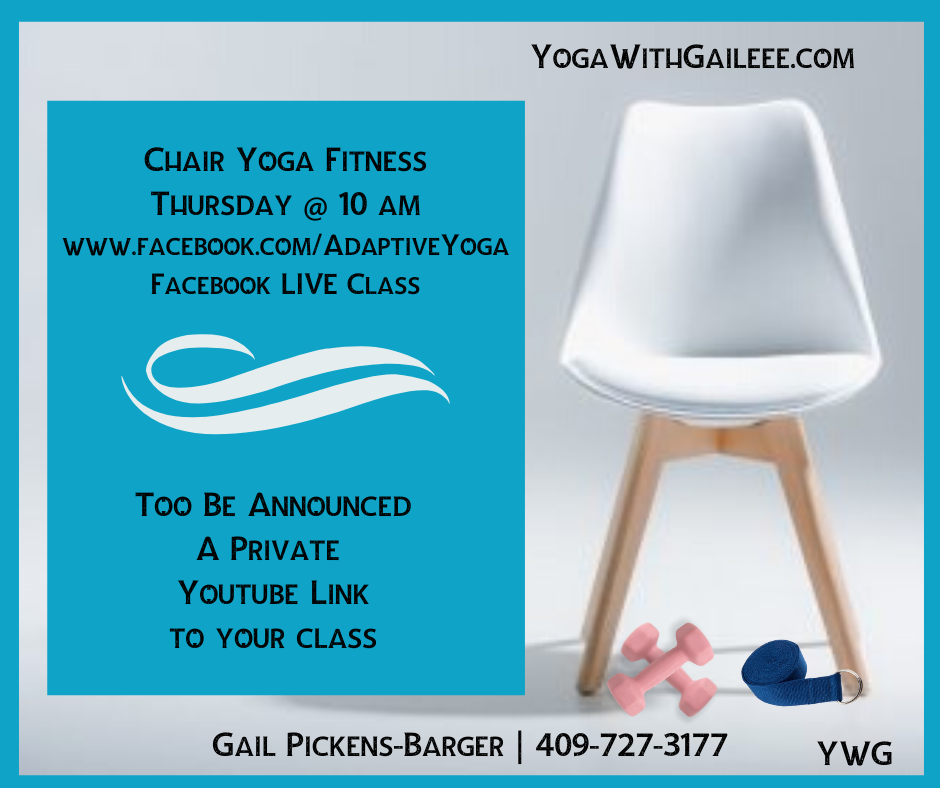 Free Chair Yoga near me in 2020 Chair yoga, Chair yoga