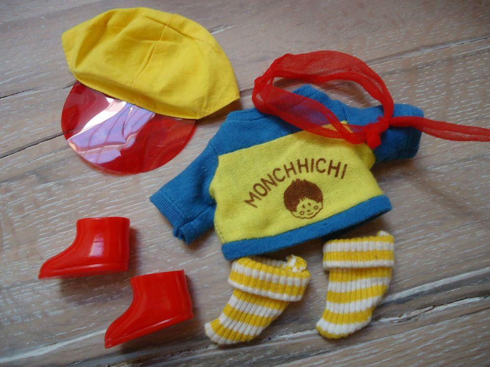 Monchhichi Kleidung Mädchen Kleid Bluse Schuhe Hut Hose Junge Mütze