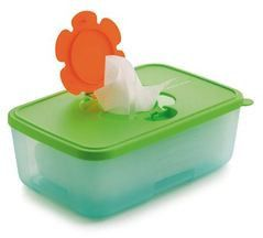 Tupperware Wipes Box - Tupperware Man UK