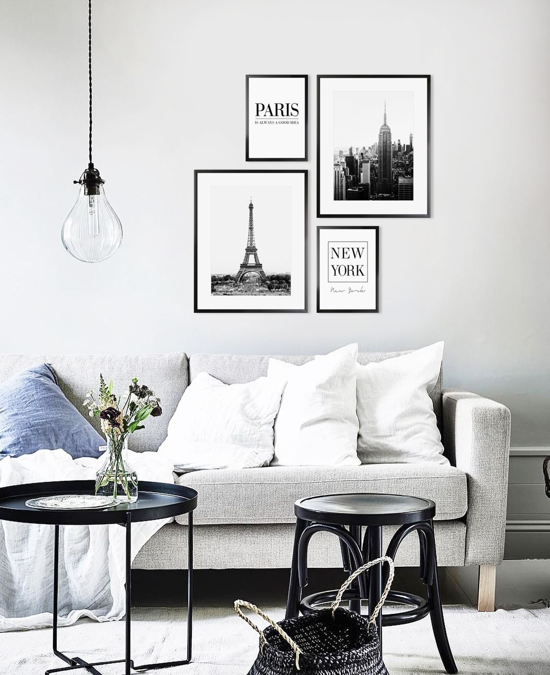 Modern printable wall art for your interior on etsy fashion style