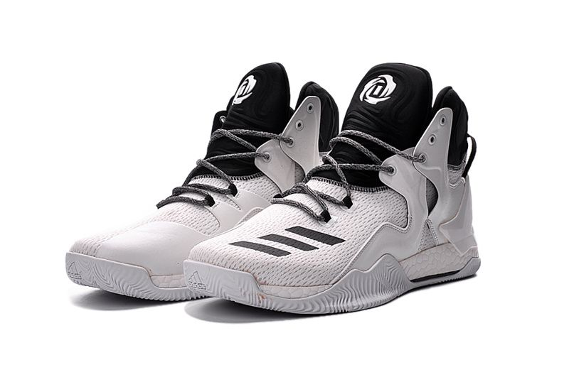 premium selection 5f837 79ef5 ... promo code adidas d rose 7 white black 97ac3 613a4